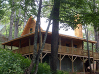 luxury cabin rentals near asheville nc