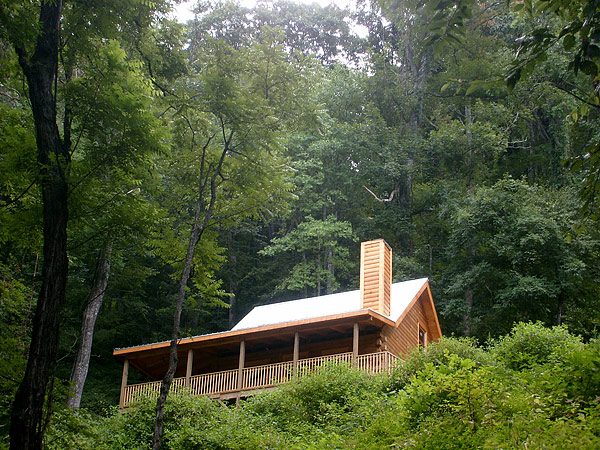 Luxury vacation rentals near asheville nc randall glen for Asheville nc luxury cabin rentals