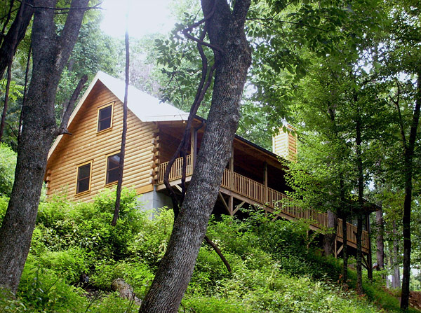 asheville secluded cabin rentals