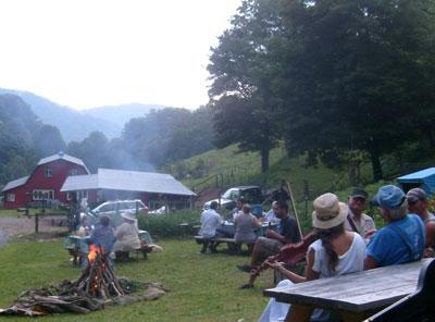 smoky mountain farm vacation