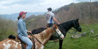 Horseback Riding Vacations in North Carolina