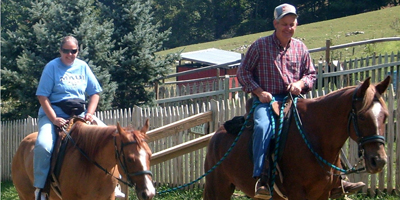 horseback riding vacations nc